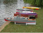 Some of the many types of boats in use.
