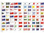 Just a selection of the hundreds of flags available.