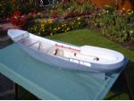 The clear Perspex deck can just be seen. This facilitated ballasting the model as there is no further access after completion.