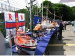 Just some of the models on display at the International Lifeboat Rally.