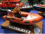 It may be a small model but this RNLB Y-139 inflatable boat is superbly made.