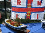 In keeping with the international flavour of the event, Keith Young presented his Dutch lifeboat Ida Mary.