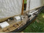 Photo 12. Foredeck with hatches on.
