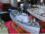 Photo 13. David Jack brought along a large number of models of small patrol boats. This USCG vessel is but one example.