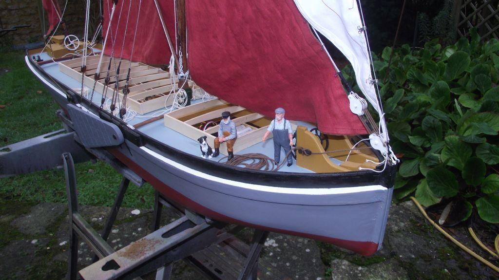Thames Sailing Barge Stuff | Model Boats