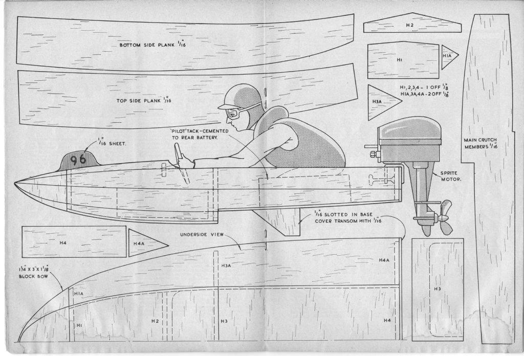 Vic Smeed's Model Boat Designs   Model Boats