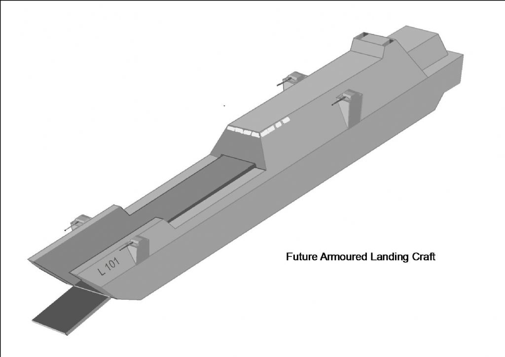 Future Landing Craft Model Boats
