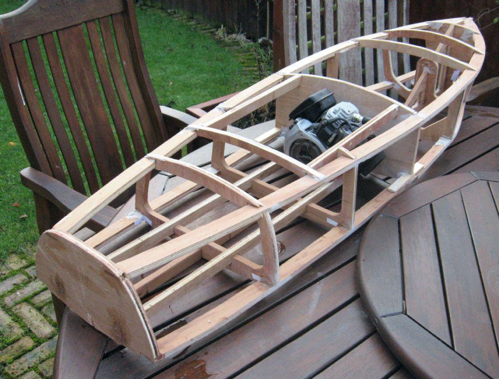 Barrel Back....   Model Boats