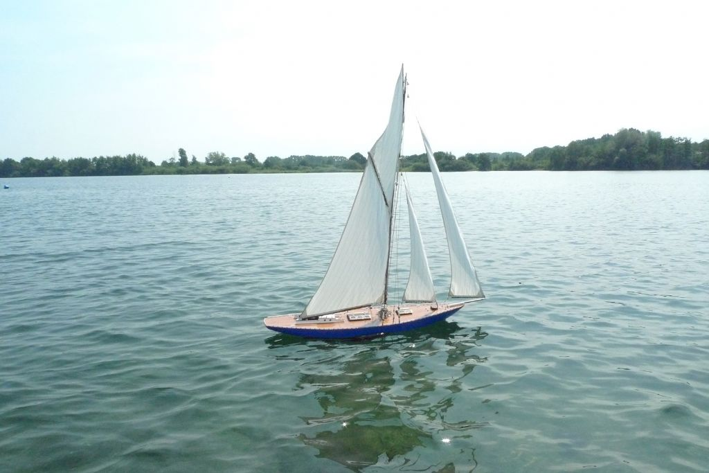 Moonbeam Maiden Sail | Model Boats