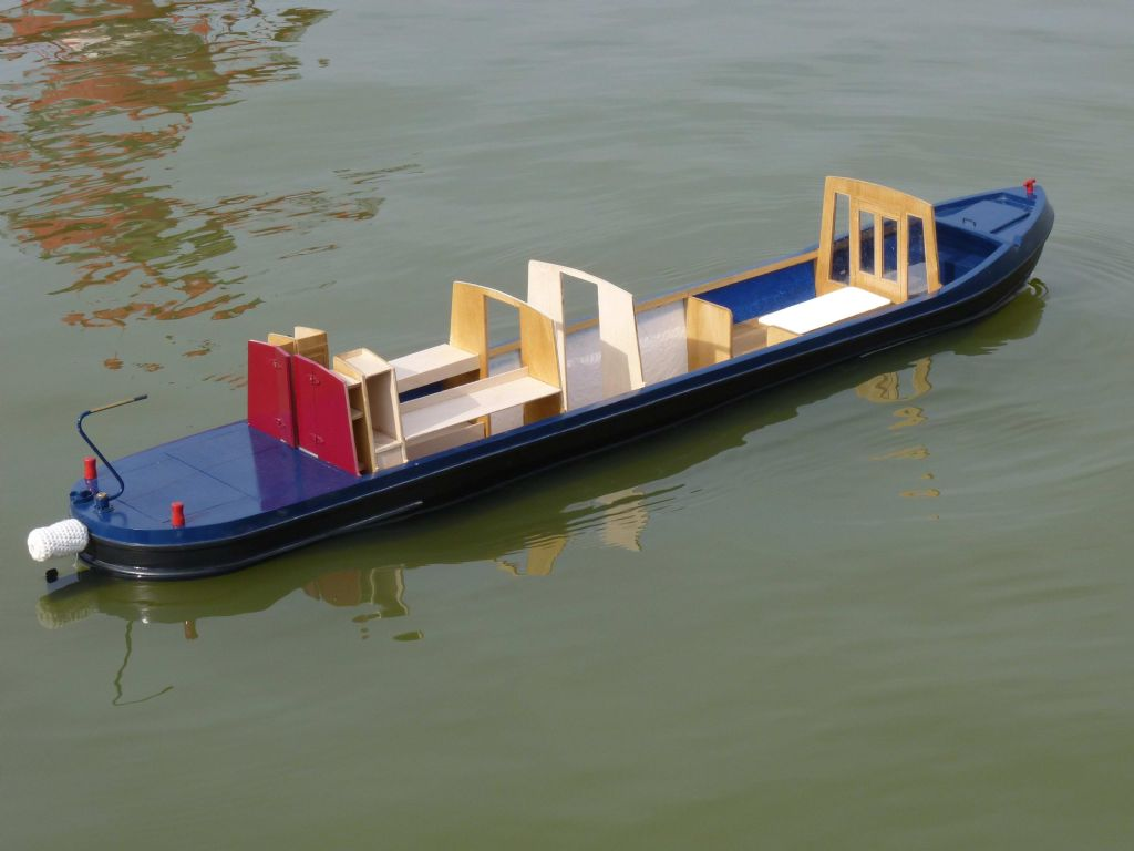 One secret: Model narrowboat plans Here