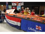 The RNLI brought along a D Class lifeboat for public inspection which attracted a lot of interest from the younger generation.