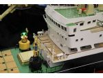 Superb detail on this model of the Trinity House Buoy Tender Patricia.