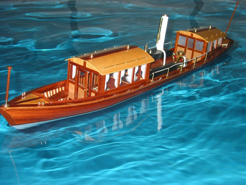 """Miranda""steam launch 
