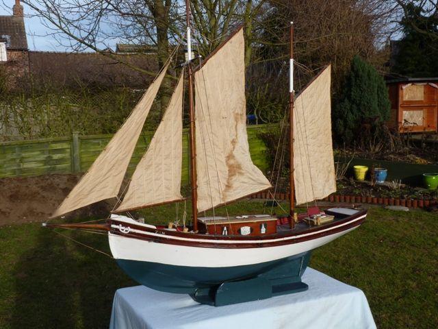 Vintage model ketch | Model Boats
