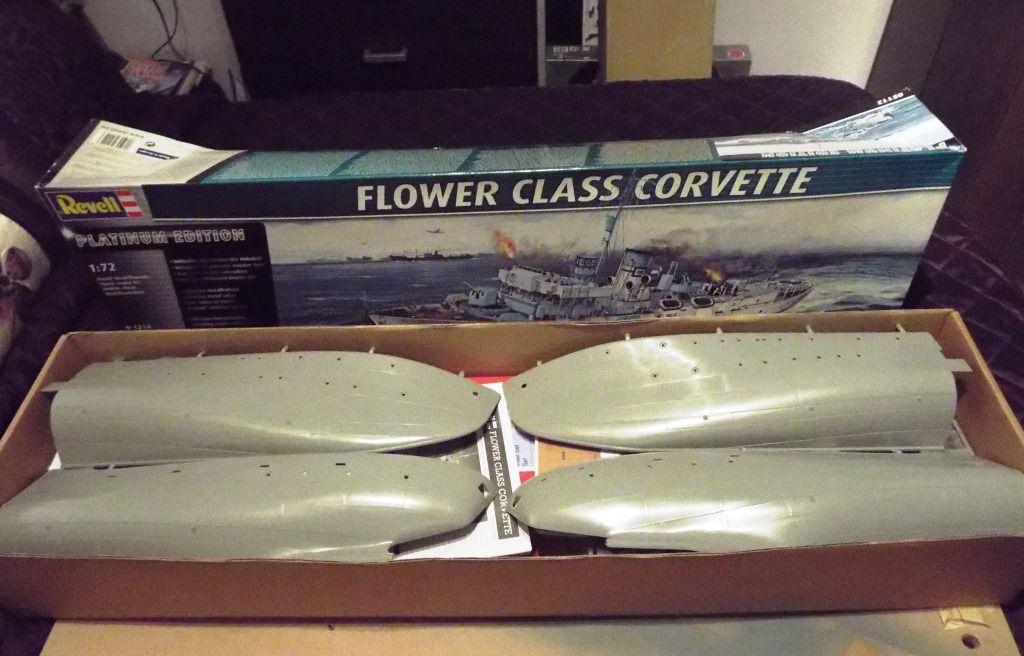 Revell 1/72 Flower Class Corvette R/C Conversion   Model Boats